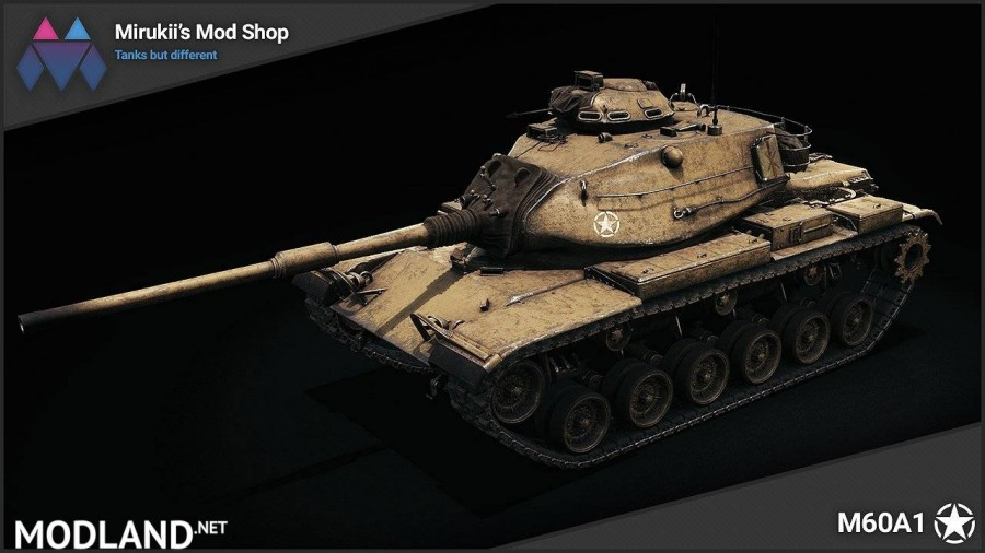 Mirukii's M60A1 Remodel (M60 Replacement) 1.5.1.0-0 [1.5.1.0]